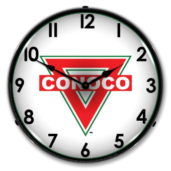 CONOCO  BACKLIT LIGHTED CLOCK