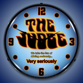 GTO THE JUDGE  BACKLIT LIGHTED CLOCK