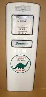 SINCLAIR DINO GAS PUMP DOOR DISPLAY
