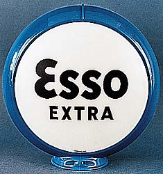 ESSO EXTRA GAS PUMP GLOBE - NEW FULL SIZE REPRODUCTION