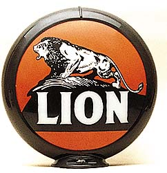 LION GAS PUMP GLOBE - NEW FULL SIZE REPRODUCTION
