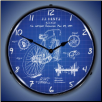 1899 BICYCLE PATENT  BACKLIT LIGHTED CLOCK