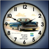 1957 BEL AIR CONVERTIBLE  BACKLIT LIGHTED CLOCK