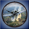 A-10 THUNDERBOLT 2  BACKLIT LIGHTED CLOCK