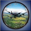 B17  BACKLIT LIGHTED CLOCK