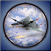 F-14 TOMCAT VF-1 BACKLIT LIGHTED CLOCK