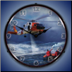 JAYHAWK HH 60 KODIAK  BACKLIT LIGHTED CLOCK