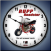 RUPP MINIBIKE  BACKLIT LIGHTED CLOCK
