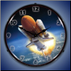 SPACE SHUTTLE ENDEAVOUR  BACKLIT LIGHTED CLOCK