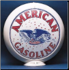 AMERICAN GASOLINE GAS PUMP GLOBE - NEW FULL SIZE REPRODUCTION