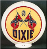 DIXIE GAS PUMP GLOBE - NEW FULL SIZE REPRODUCTION