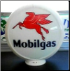 MOBILGAS GAS PUMP GLOBE - NEW FULL SIZE REPRODUCTION