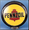 PENNZOIL GAS PUMP GLOBE - NEW FULL SIZE REPRODUCTION