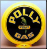 POLLY GAS GAS PUMP GLOBE - NEW FULL SIZE REPRODUCTION