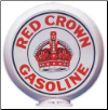 RED CROWN GASOLINE GAS PUMP GLOBE - NEW FULL SIZE REPRODUCTION