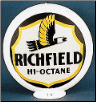 RICHFIELD HI-OCTANE GAS PUMP GLOBE - NEW FULL SIZE REPRODUCTION