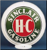 SINCLAIR HC GASOLINE GAS PUMP GLOBE - NEW FULL SIZE REPRODUCTION