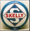 SKELLY GAS PUMP GLOBE - NEW FULL SIZE REPRODUCTION