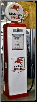 MOBILGAS SPECIAL  GAS PUMP - FULL SIZE REPRODUCTION OF OLD 1950s CLASSIC ANTIQUE COLLECTIBLE GAS STATION MEMORABILIA