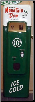 MOUNTAIN DEW  SODA MACHINE DOOR DISPLAY