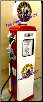 MUSGO GAS PUMP - FULL SIZE REPRODUCTION OF OLD 1950s CLASSIC ANTIQUE COLLECTIBLE GAS STATION MEMORABILIA