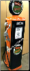 PHILLIPS UNIQUE  GAS PUMP - FULL SIZE REPRODUCTION OF OLD 1950s CLASSIC ANTIQUE COLLECTIBLE GAS STATION MEMORABILIA