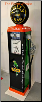 POLLY  GAS PUMP - FULL SIZE REPRODUCTION OF OLD 1950s CLASSIC ANTIQUE COLLECTIBLE GAS STATION MEMORABILIA
