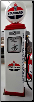 STANDARD   GAS PUMP - FULL SIZE REPRODUCTION OF OLD 1950s CLASSIC ANTIQUE COLLECTIBLE GAS STATION MEMORABILIA