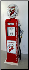 TEXACO FIRE CHIEF GAS PUMP - FULL SIZE REPRODUCTION OF OLD 1950s CLASSIC ANTIQUE COLLECTIBLE GAS STATION MEMORABILIA
