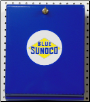 BLUE SUNOCO PAPER TOWEL DISPENSER