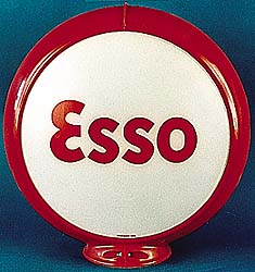 ESSO GAS PUMP GLOBE - NEW FULL SIZE REPRODUCTION