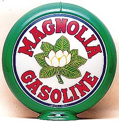 MAGNOLIA GASOLINE GAS PUMP GLOBE - NEW FULL SIZE REPRODUCTION