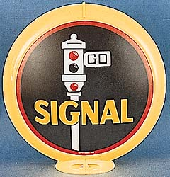 SIGNAL GAS PUMP GLOBE - NEW FULL SIZE REPRODUCTION