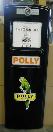 POLLY GAS PUMP DOOR DISPLAY