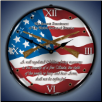 2nd AMENDMENT  BACKLIT LIGHTED CLOCK