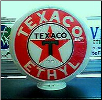 TEXACO ETHYL GAS PUMP GLOBE - NEW FULL SIZE REPRODUCTION