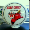 TEXACO FIRE CHIEF GAS PUMP GLOBE - NEW FULL SIZE REPRODUCTION