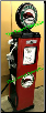 BUFFALO GAS PUMP - FULL SIZE REPRODUCTION OF OLD 1950s CLASSIC ANTIQUE COLLECTIBLE GAS STATION MEMORABILIA
