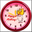 "ESSO HAPPY MOTORING 20"" GENUINE NEON CLOCK"