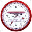 "GTO  20"" GENUINE NEON CLOCK"
